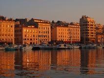 Porto de Marselha Vieux Imagens de Stock Royalty Free