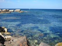 Porto de Marzamemi Imagem de Stock