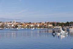 Porto de Medulin Fotos de Stock Royalty Free