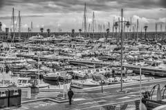Porto de Menton Imagens de Stock