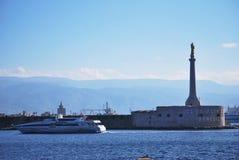 Porto de Messina Foto de Stock Royalty Free