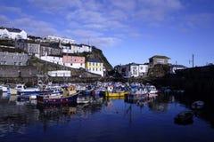 Porto de Mevagissey Imagens de Stock Royalty Free
