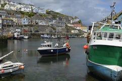 Porto de Mevagissey perto de St Austell em Cornualha Foto de Stock