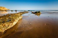 Porto de Mos Beach in Lagos, Algarve Stock Image