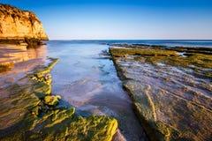 Porto de Mos Beach in Lagos, Algarve Royalty Free Stock Photos