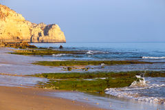 Porto de Mos Beach, Lagos, Portugal Royalty Free Stock Photo