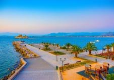 Porto de Nafplion imagem de stock