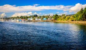 Porto de Nanaimo fotografia de stock royalty free