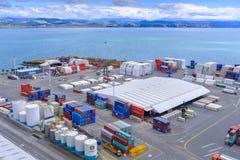 Porto de Napier em Nova Zelândia Imagem de Stock Royalty Free