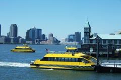 Porto de New York Foto de Stock Royalty Free