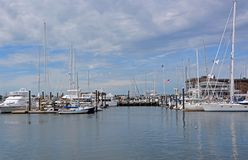 Porto de Newport, RI Imagem de Stock Royalty Free