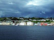 Porto de Oban, Escócia Fotografia de Stock Royalty Free