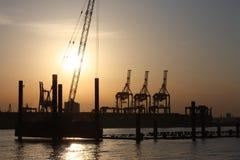 Porto de Odessa, seaview Fotografia de Stock
