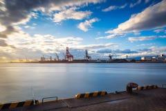 Porto de Osaka Imagem de Stock