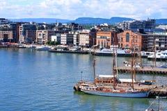 Porto de Oslo - Noruega fotos de stock