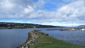Porto de Otago, câmaras portuárias imagens de stock