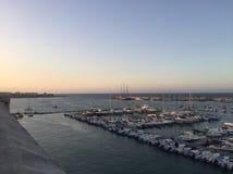 Porto de Otranto imagem de stock