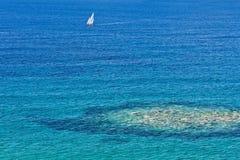 Porto de Palinuro, Salerno, Itália Imagem de Stock