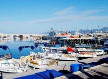 Porto de Paphos fotografia de stock royalty free