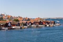 Porto de pesca Foto de Stock Royalty Free