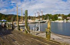 Porto de pesca Foto de Stock