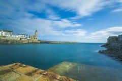 Porto de pesca histórico de Porthlevan Foto de Stock Royalty Free