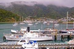 Porto de Picton Fotos de Stock