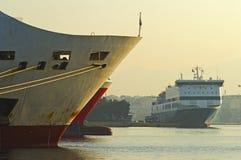 Porto de Piraeus Imagens de Stock