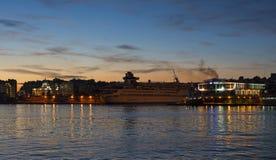 Porto de Piraeus Foto de Stock