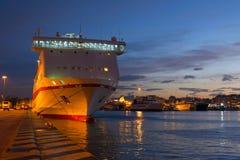 Porto de Piraeus Fotografia de Stock