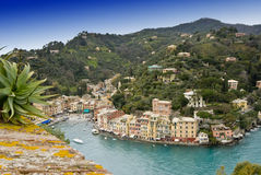 Porto de Portofino fotos de stock royalty free