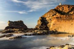 Porto de Portreath fotos de stock royalty free