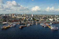Porto De régional Manaus Photo stock