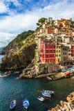 Porto de Riomagiore Fotografia de Stock Royalty Free