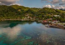 Porto de Roatan no Hondures foto de stock royalty free