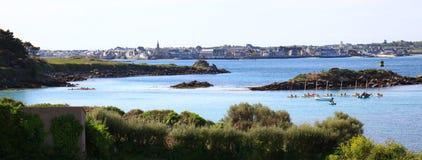 Porto de Roscoff Fotografia de Stock
