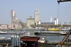Porto de Rotterdam Imagem de Stock Royalty Free