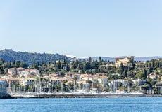 Porto de Saint Jean Cap Ferrat Imagem de Stock