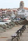 Porto de Saint Jean de Luz Foto de Stock Royalty Free