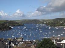 Porto de Salcombe, Devon, Reino Unido fotos de stock