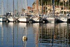 Porto de Sanary Imagens de Stock
