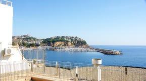 Porto de Sant Feliu de Guixols Imagem de Stock