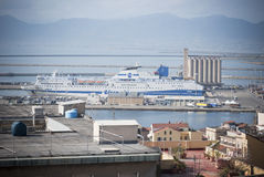Porto de Sardinia.Cagliari Fotos de Stock