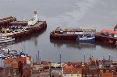 Porto de Scarborough Imagens de Stock Royalty Free
