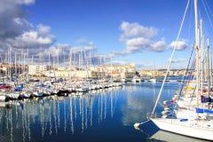 Porto de Sete, Languedoc, - ao sul de França Foto de Stock Royalty Free