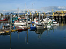Porto de Seward Imagem de Stock