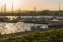 Porto de Siracusa Foto de Stock Royalty Free