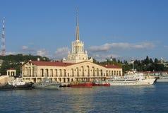 Porto de Sochi Imagem de Stock