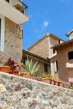 Porto de Soller - cidade em Mallorca Fotos de Stock Royalty Free