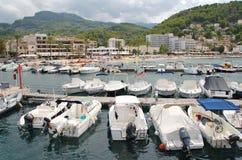 Porto de Soller, Majorca Imagens de Stock Royalty Free